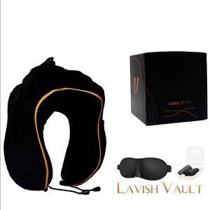LAVISH VAULT LUXURY TRAVEL PILLOW
